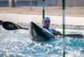 Ana Sátila e Pepê garantem Brasil em semi da canoagem slalom em Tóquio | Foto: Miriam Jeske COB