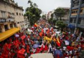 Protesto contra Bolsonaro em Salvador reúne trabalhadores, sindicatos, partidos e estudantes | Foto: PT Salvador