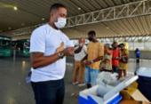 Vacinação contra a gripe acontece na rodoviária de Salvador | Foto: Shirley Stolze | Ag. A TARDE