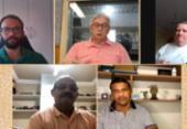 Mesa-redonda debate Jogos Olímpicos e incentivos às demais modalidades | Foto: Reprodução | Youtube