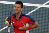 Tênis: Djokovic atropela Nishikori e está nas semifinais de Tóquio 2020 | Foto: Tiziana FABI | AFP