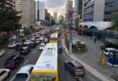Obras afetarão trânsito na avenida Tancredo Neves a partir desta segunda | Foto: Nelson Luis | Ag. A TARDE