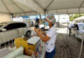 Mutirão aplica 2ª dose da vacina contra a Covid-19 em Salvador nesta segunda; 1ª segue suspensa | Foto: Divulgação