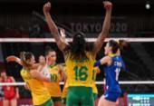 Vôlei: Brasil atropela Japão, mas perde levantadora por lesão | Foto: Angela Weiss | AFP