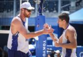 Vôlei de praia: Alisson e Álvaro vencem dupla holandesa e garantem vaga nas oitavas | Foto: Reprodução | Twitter | Time Brasil