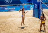 Vôlei de praia: Ana Patricia e Rebecca estreiam com vitória sobre quenianas | Foto: Miriam Jeske | COB