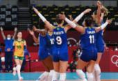 Vôlei feminino: Brasil vence Sérvia e assume liderança do Grupo A | Foto: Jung Yeon-Je | AFP