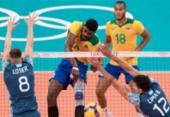 Brasil constrói virada espetacular e vence Argentina pelo vôlei masculino por 3 sets a 2 | Foto: Julio Cesar Guimarães / COB