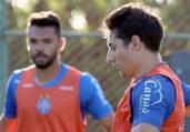 Em BH, Bahia faz treino técnico para duelo contra Galo | Felipe Oliveira | EC Bahia