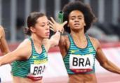 Brasil bate recorde mas não avança no revezamento misto   Wagner Carmo/ CBAt/Direitos reservados