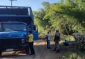 Prefeitura de Cachoeira flagra retirada ilegal de bambu | Divulgação | Prefeitura de Cachoeira