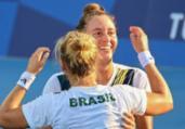 Tênis: Luisa Stefani e Laura Pigossi são bronze | Vincenzo Pinto | AFP