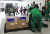 Mais de 494 mil doses chegam à Bahia neste sábado   Camila Souza   GOV BA