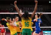 Vôlei: Brasil atropela Japão, mas perde levantadora | Angela Weiss | AFP