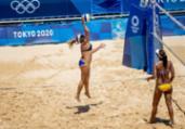 Vôlei: Ana Patricia e Rebecca estreiam com vitória   Miriam Jeske   COB