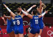 Vôlei feminino: Brasil vence Sérvia e lidera Grupo A   Jung Yeon-Je   AFP