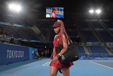 Chama de Naomi Osaka se apaga e a de Biles enfraquece | Tiziana Fabi | AFP