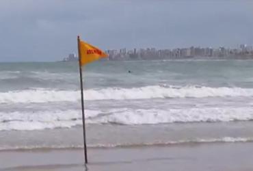 Adolescente desaparece após entrar no mar em praia de Salvador | Reprodução | TV Bahia