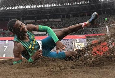 Brasileiros ficam de fora da final do salto em distância | Ben Stansall | AFP