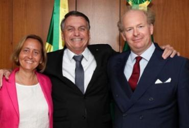 Comunidades judaicas criticam encontro de Bolsonaro com deputada alemã de extrema direita | Reprodução