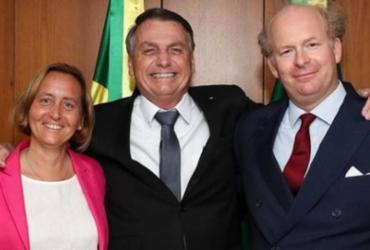 Bolsonaro se reúne com deputada alemã de extrema-direita | Reprodução