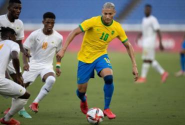 Com um a menos desde o início, Brasil empata em 0 a 0 com a Costa do Marfim | Lucas Figueiredo / CBF
