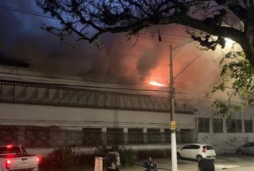 Incêndio destrói galpão da Cinemateca Brasileira com 2 mil cópias de filmes | Reprodução/ Twitter