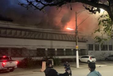 Incêndio na Cinemateca é resultado de descaso do governo, apontam senadores | Reprodução/ Twitter