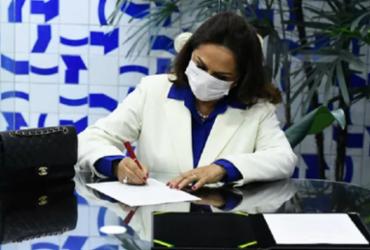 Mãe de Ciro Nogueira toma posse como senadora após filho ter sido nomeado na Casa Civil | Jefferson Rudy I Agência Senado