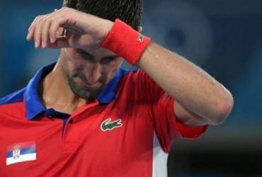 Djokovic perde na semifinal olímpica e acaba com sonho do 'Golden Slam' | Tiziana Fabi | AFP