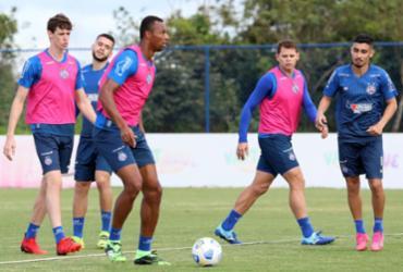 Em treino tático, Dado começa a montar equipe que irá encarar o Galo | Felipe Oliveira | EC Bahia