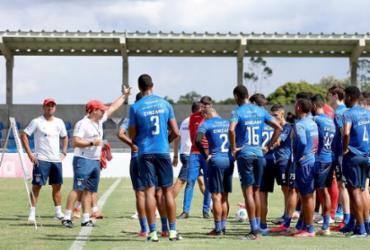 Bahia realiza último treino em Salvador antes de encarar o Atlético-MG | Felipe Oliveira | EC Bahia