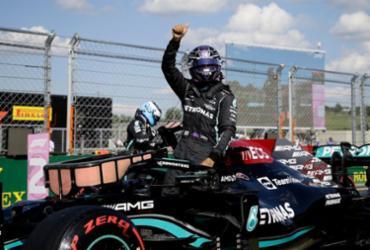 Lewis Hamilton conquista a pole do GP de Hungria de Fórmula 1 | David Cerny | AFP