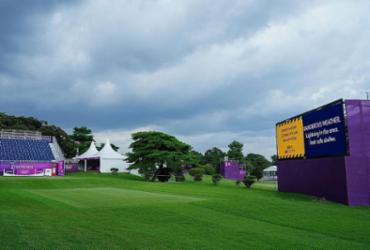 Raios interrompem primeira rodada do golfe nos Jogos de Tóquio |