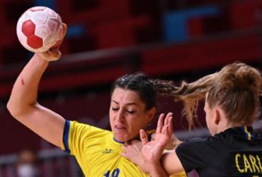 Handebol: Brasil perde para Suíça no feminino, mas tem chance de classificação | Daniel Leal-Olivas | AFP