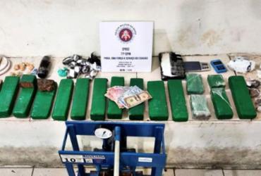 Conquista: homem é preso com 11 kg de drogas e comprimidos de 'boa noite, Cinderela'