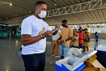 Vacinação contra a gripe acontece na rodoviária de Salvador | Shirley Stolze | Ag. A TARDE