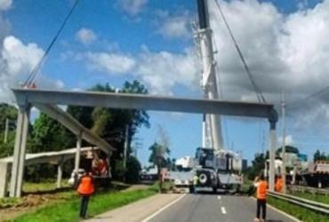 BR-116 passa por interdição neste domingo | Reprodução | Via Bahia