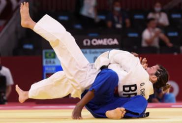 Judoca brasileira vence em apenas 14 segundos e avança às oitavas | Jack Guez | AFP