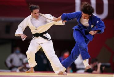 Judô: em combate mais longo da Olimpíada, Maria Portela é eliminada com polêmica | Divulgação | COB