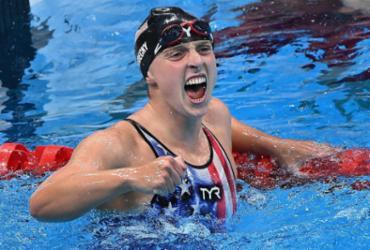 Natação: americana Katie Ledecky é ouro nos 800m livre |