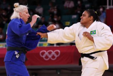 Judô: Maria Suelen Altheman perde e se lesiona nas quartas | Jack Guez | AFP