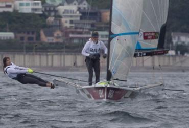 Vela: Martine e Kahena sobem para 3º lugar na classe 49erFX em Tóquio |