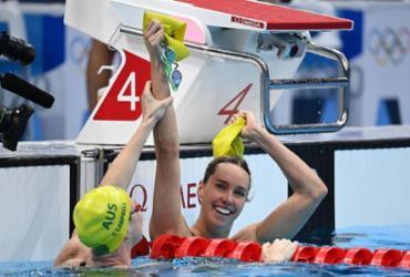 Natação: australiana Emma McKeon é ouro nos 100m livre com recorde olímpico |