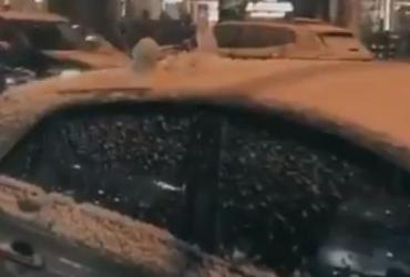 Cidades no Rio Grande do Sul registram neve nesta quarta-feira | Reprodução | Twitter