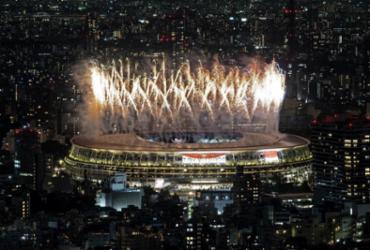 Fotos: cerimônia de abertura dos Jogos Olímpicos de Tóquio |