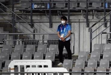 Cerimônia abre Olimpíadas de Tóquio sem público | Franck Fife / AFP / CP