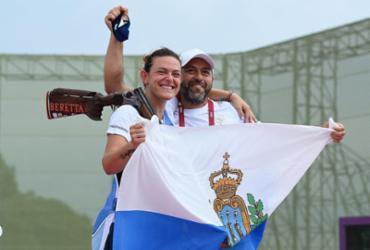 Tiro esportivo: San Marino conquista a primeira medalha olímpica de sua história |