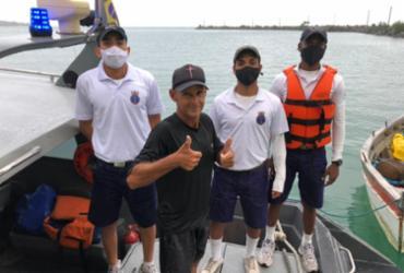 Pescador desaparecido há um dia é resgatado por militares da Marinha | Divulgação | Marinha do Brasil