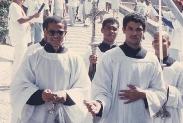 Com transferência para o mês de julho, homenagem a Sant'Ana alcançou protagonismo | Rejane Carneiro | Arquivo A TARDE | 26.7.1998